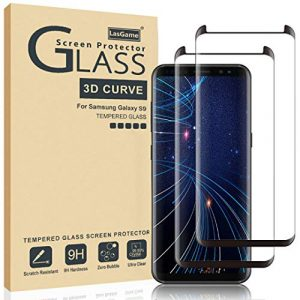 LasGame Glass Screen Protector for Samsung Galaxy S9